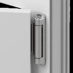 """Штифт опоры верхней петли. При соединении с петлей ножниц, получает жесткую надежную фиксацию, благодаря специальной втулке из высокопрочного полимера, что исключает самопроизвольное рассоединение в положении """"откинуто"""" и """"открыто""""."""